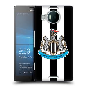 Plastové pouzdro na mobil Microsoft Lumia 950 XL HEAD CASE Newcastle United FC - Pruhy