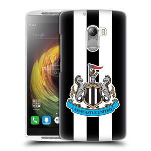 Plastové pouzdro na mobil Lenovo A7010 HEAD CASE Newcastle United FC - Pruhy