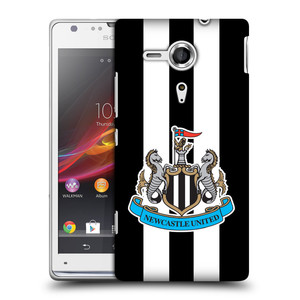 Plastové pouzdro na mobil Sony Xperia SP C5303 HEAD CASE Newcastle United FC - Pruhy