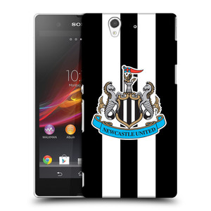 Plastové pouzdro na mobil Sony Xperia Z C6603 HEAD CASE Newcastle United FC - Pruhy