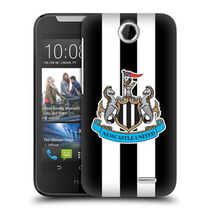 Plastové pouzdro na mobil HTC Desire 310 HEAD CASE Newcastle United FC - Pruhy