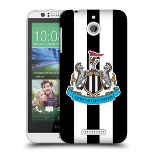 Plastové pouzdro na mobil HTC Desire 510 HEAD CASE Newcastle United FC - Pruhy