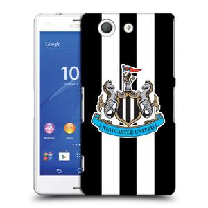 Plastové pouzdro na mobil Sony Xperia Z3 Compact D5803 HEAD CASE Newcastle United FC - Pruhy