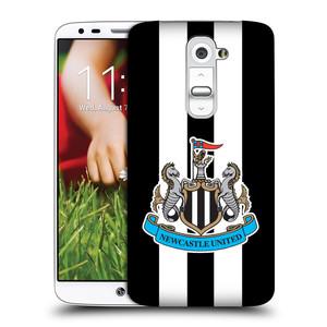 Plastové pouzdro na mobil LG G2 HEAD CASE Newcastle United FC - Pruhy