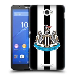 Plastové pouzdro na mobil Sony Xperia E4 E2105 HEAD CASE Newcastle United FC - Pruhy