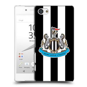 Plastové pouzdro na mobil Sony Xperia Z5 Compact HEAD CASE Newcastle United FC - Pruhy