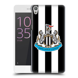 Plastové pouzdro na mobil Sony Xperia E5 HEAD CASE Newcastle United FC - Pruhy