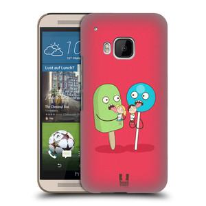 Plastové pouzdro na mobil HTC ONE M9 HEAD CASE DEN NARUBY LÍZÁTKA