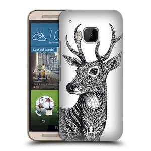 Plastové pouzdro na mobil HTC ONE M9 HEAD CASE Zdobený Jelínek
