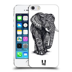 Plastové pouzdro na mobil Apple iPhone SE, 5 a 5S HEAD CASE Zdobený Slon