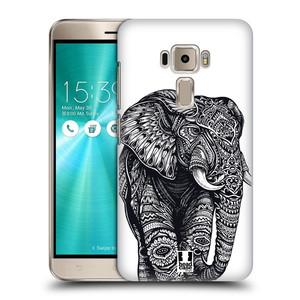 Plastové pouzdro na mobil Asus ZenFone 3 ZE520KL HEAD CASE Zdobený Slon