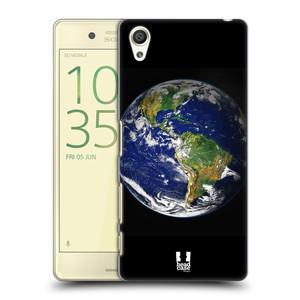 Plastové pouzdro na mobil Sony Xperia X HEAD CASE ZEMĚ