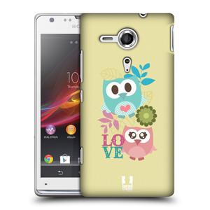 Plastové pouzdro na mobil Sony Xperia SP C5303 HEAD CASE SOVIČKY LOVE