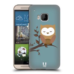 Plastové pouzdro na mobil HTC ONE M9 HEAD CASE SOVIČKA SPÍCÍ