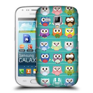 Plastové pouzdro na mobil Samsung Galaxy S Duos HEAD CASE SOVIČKY ZELENÉ