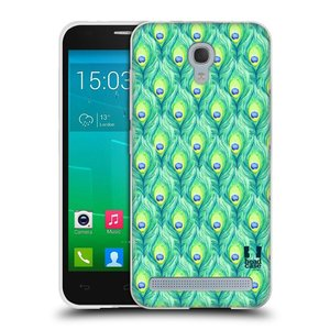 Silikonové pouzdro na mobil Alcatel One Touch Idol 2 Mini S 6036Y HEAD CASE PÍRKA PATTERN