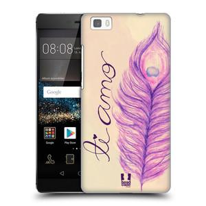 Plastové pouzdro na mobil Huawei P8 Lite HEAD CASE PÍRKA TI AMO