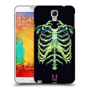 Plastové pouzdro na mobil Samsung Galaxy Note 3 Neo HEAD CASE NEON KOSTRA
