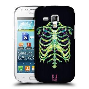 Plastové pouzdro na mobil Samsung Galaxy Trend Plus HEAD CASE NEON KOSTRA