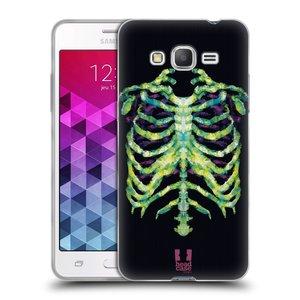 Silikonové pouzdro na mobil Samsung Galaxy Grand Prime VE HEAD CASE NEON KOSTRA