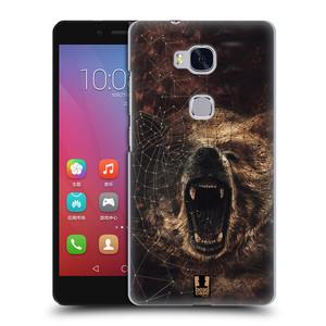 Plastové pouzdro na mobil Honor 5X HEAD CASE POLYSKETCH GRIZZLY