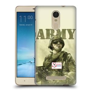 Plastové pouzdro na mobil Xiaomi Redmi Note 3 HEAD CASE BRITISH ARMY