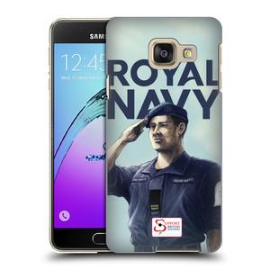 Plastové pouzdro na mobil Samsung Galaxy A3 (2016) HEAD CASE ROYAL NAVY