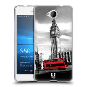 Silikonové pouzdro na mobil Microsoft Lumia 650 HEAD CASE BIG BEN
