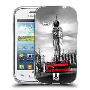 Silikonové pouzdro na mobil Samsung Galaxy Young HEAD CASE BIG BEN