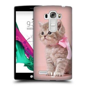 Plastové pouzdro na mobil LG G4s HEAD CASE KOTĚ S MAŠLÍ