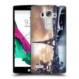 Plastové pouzdro na mobil LG G4s HEAD CASE SUNSET SKYLINE PAŘÍŽ