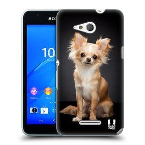 Plastové pouzdro na mobil Sony Xperia E4g E2003 HEAD CASE ČIVAVA
