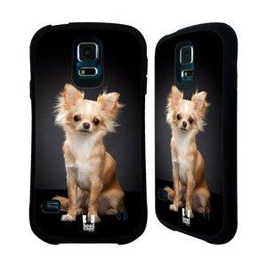 Nárazuvzdorné pouzdro na mobil Samsung Galaxy S5 HEAD CASE ČIVAVA