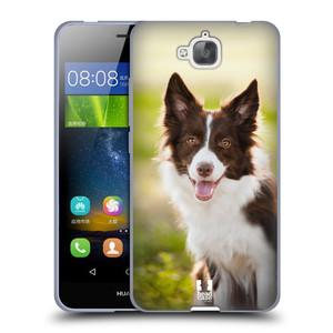 Silikonové pouzdro na mobil Huawei Y6 Pro Dual Sim HEAD CASE BORDER KÓLIE