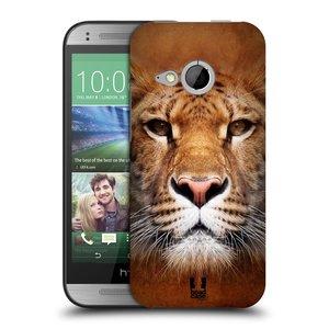 Plastové pouzdro na mobil HTC ONE Mini 2 HEAD CASE TVÁŘ LIGER