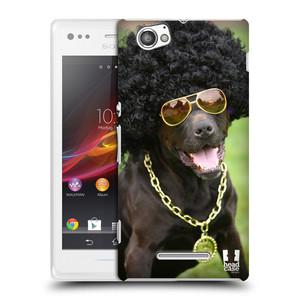 Plastové pouzdro na mobil Sony Xperia M C1905 HEAD CASE FUNKY PES