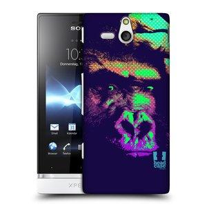 Plastové pouzdro na mobil Sony Xperia U ST25i HEAD CASE POP PRINT GORILA