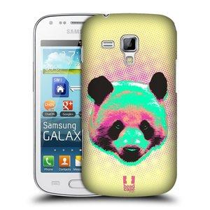 Plastové pouzdro na mobil Samsung Galaxy S Duos HEAD CASE POP PRINT PANDA