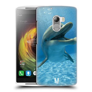 Plastové pouzdro na mobil Lenovo A7010 HEAD CASE DIVOČINA – DELFÍN
