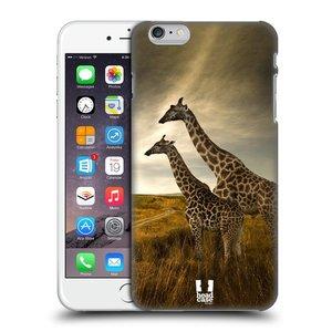 Plastové pouzdro na mobil Apple iPhone 6 Plus a 6S Plus HEAD CASE DIVOČINA – ŽIRAFY