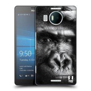 Plastové pouzdro na mobil Microsoft Lumia 950 XL HEAD CASE DIVOČINA – GORILA