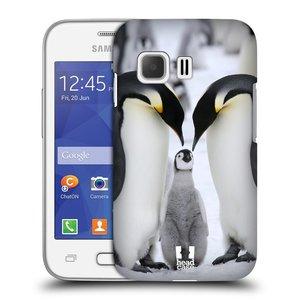 Plastové pouzdro na mobil Samsung Galaxy Young 2 HEAD CASE DIVOČINA – TUČŇÁCI