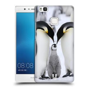 Plastové pouzdro na mobil Huawei P9 Lite HEAD CASE DIVOČINA – TUČŇÁCI