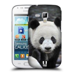 Plastové pouzdro na mobil Samsung Galaxy S Duos HEAD CASE DIVOČINA – PANDA