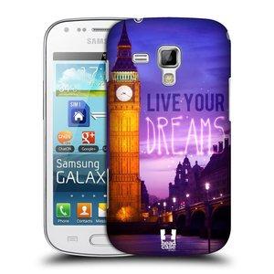 Plastové pouzdro na mobil Samsung Galaxy S Duos HEAD CASE DREAMS