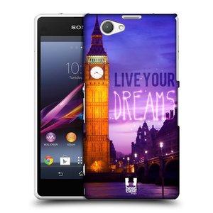 Plastové pouzdro na mobil Sony Xperia Z1 Compact D5503 HEAD CASE DREAMS