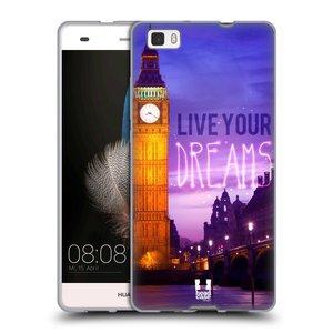 Silikonové pouzdro na mobil Huawei P8 Lite HEAD CASE DREAMS