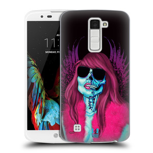 Plastové pouzdro na mobil LG K10 HEAD CASE LEBKA GROUPIE