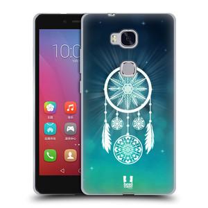 Silikonové pouzdro na mobil Honor 5X HEAD CASE Lapač vločky