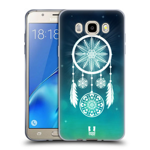 Silikonové pouzdro na mobil Samsung Galaxy J5 (2016) HEAD CASE Lapač vločky